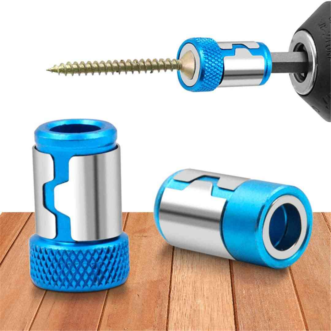 Universal Magnetic Ring Alloy Screwdriver Bits Anti-corrosion Strong Magnetizer Drill Bit