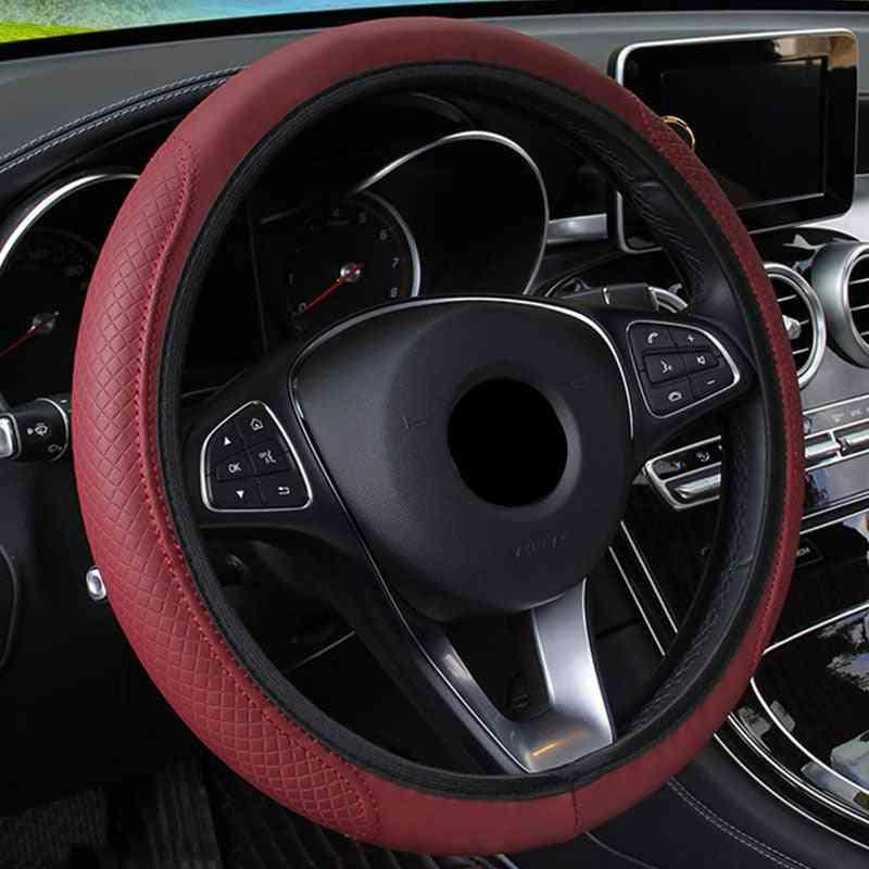 Steering Wheel Cover Braid On The Steering Wheel Cover