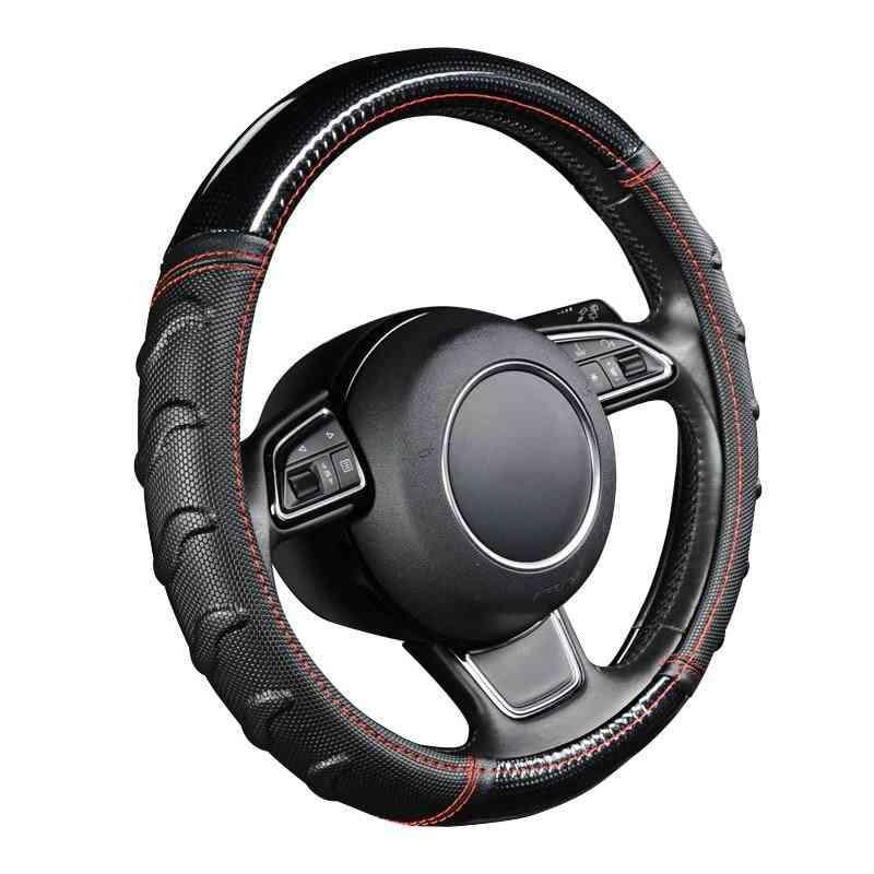 Willow Patterned Massage Car Steering Wheel Cover Soccer Pattern Splice Light