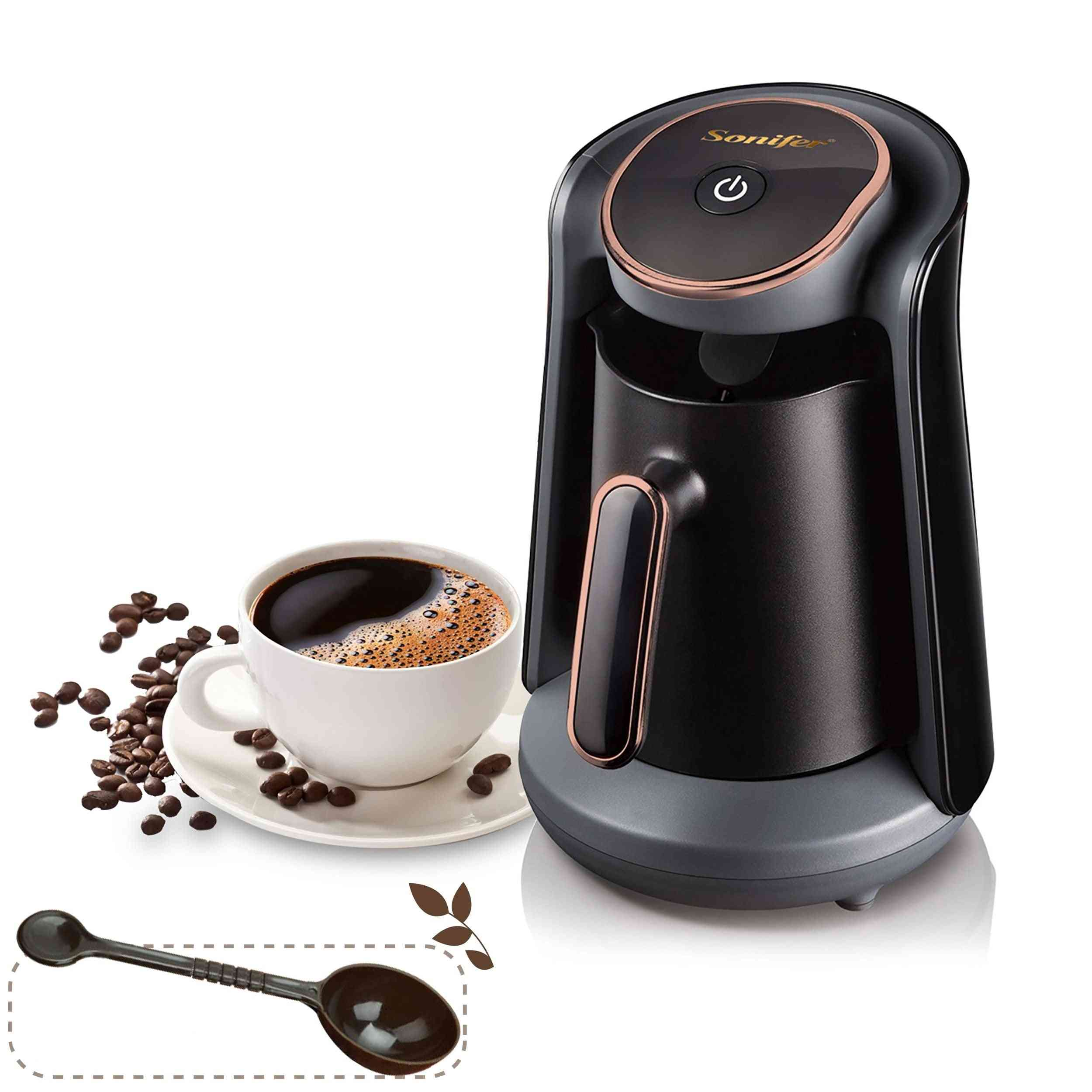 Portable Automatic Turkish Coffee Maker, Sound Warning System