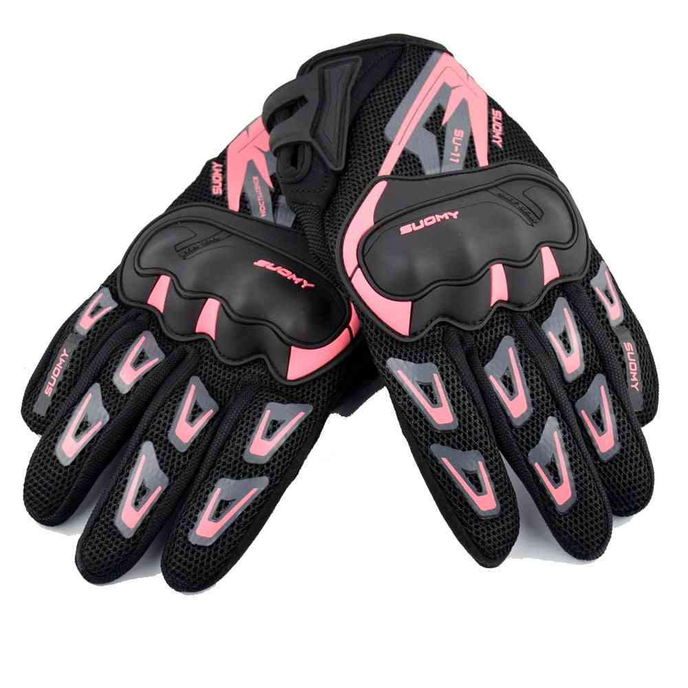 Summer Breathable Motorcycle Gloves, Touch Screen, Guantes Motorbike Protective, Winter Warm Glove