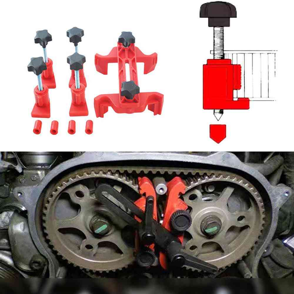Car Engine Cam Timing Locking Tool Set, Retainer Belt Fix Changer