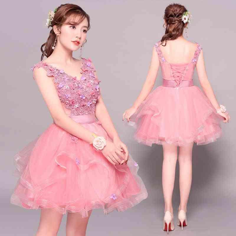 Gryffon Elegant, Floral Print, V-neck Ball Gown, Vestidos Dresses
