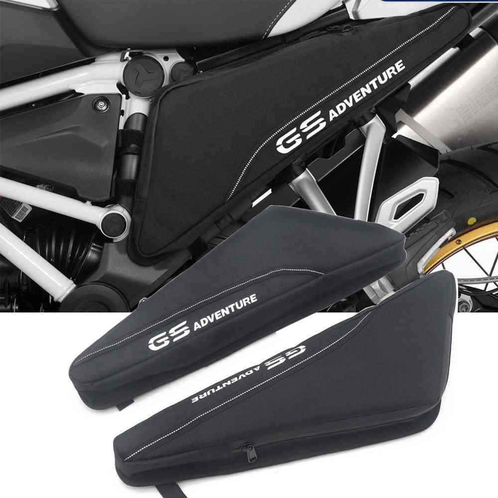 Motorcycle Repair Tool Placement Bag Frame Triple Cornered Package Toolbox, Fit For R1200gs Adv Lc R1250gs
