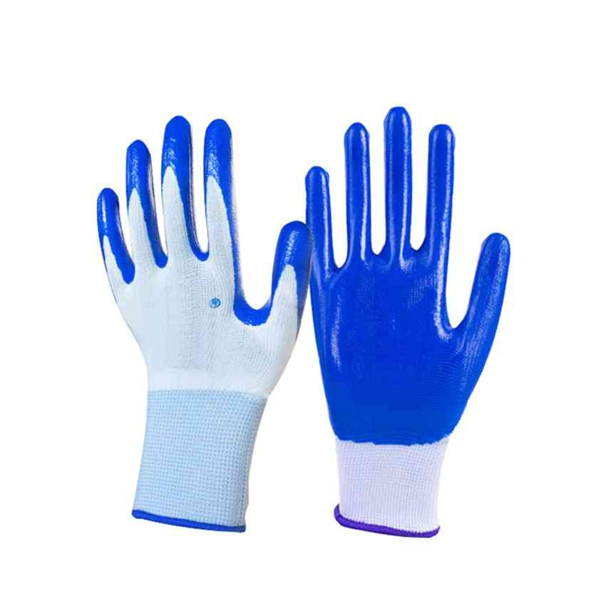 Nitrile Coated Working Gloves, Protective Glove