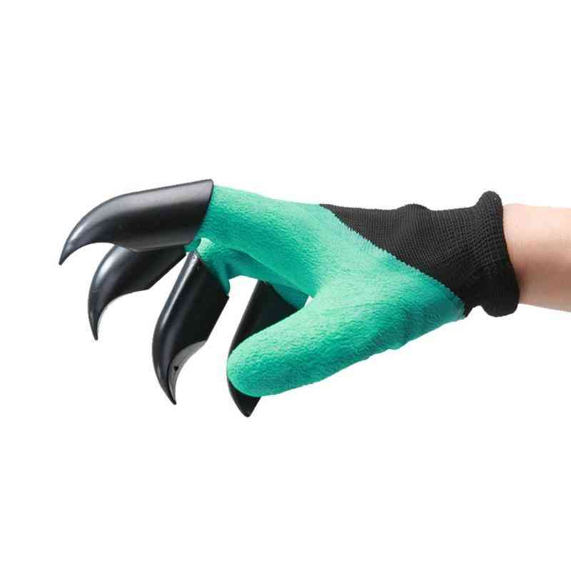 Abs Plastic Claws  For Garden Plant Digging Safety Hand Glove