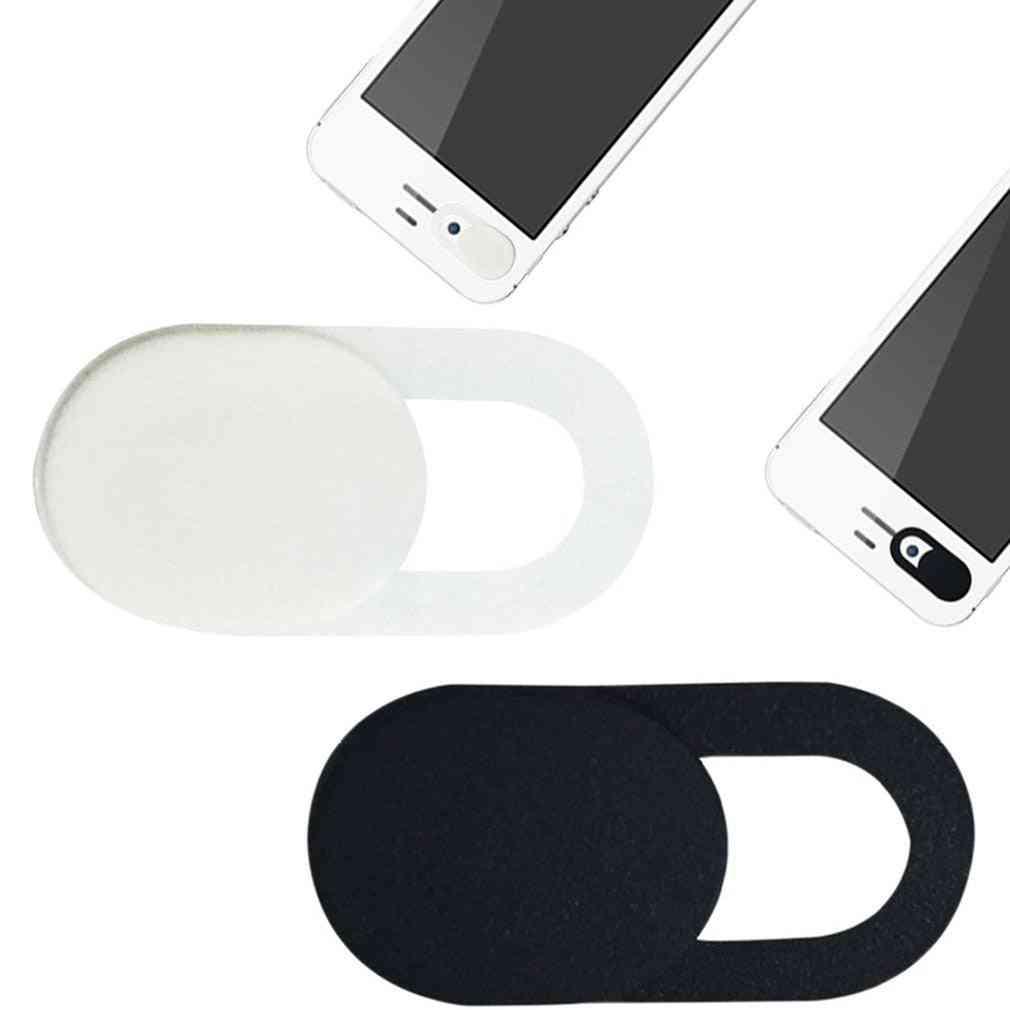 Portable Size, Webcam Cover Shutter Magnet Slider, Plastic Camera Cover