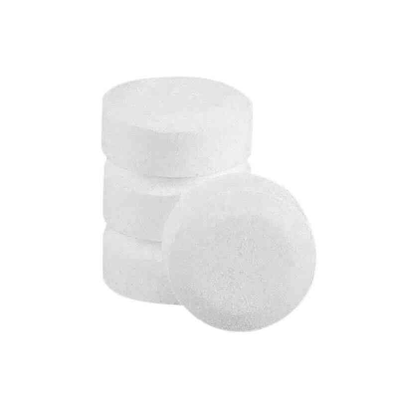 Coffee Machine Cleaning Effervescent Tablets (white)