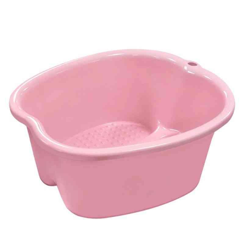 Large Foot Bath Spa Tub, Basin, Bucket, Soak Feet, Detox Pedicure Massage
