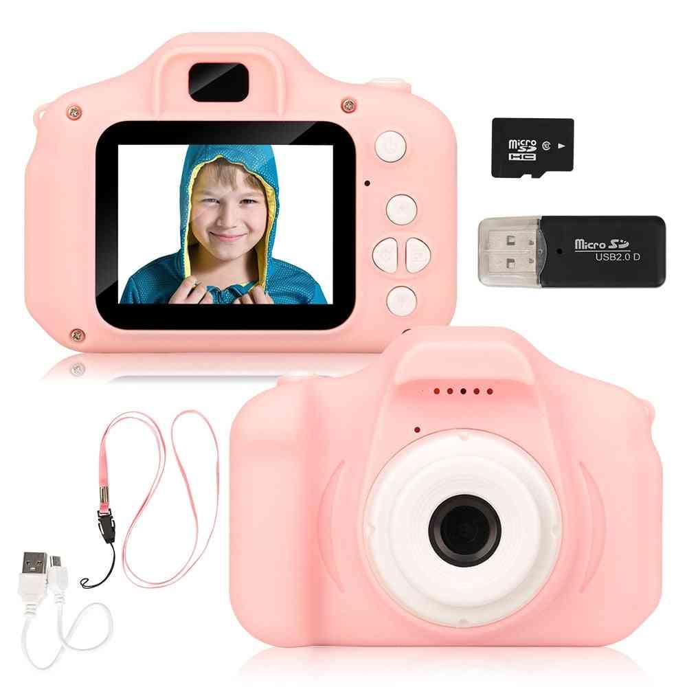 Mini's Camera, Rechargeable, Playback Kids, Girl Birthday Present