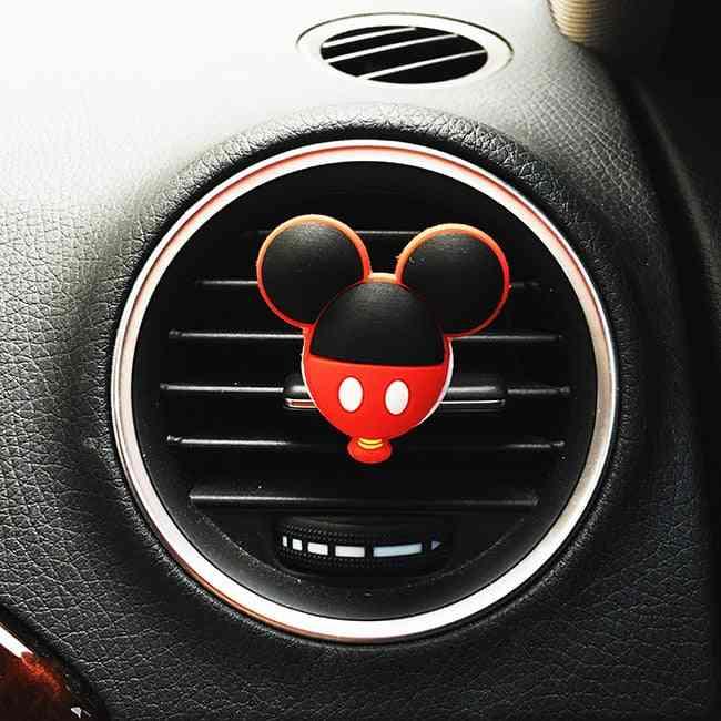 Car Perfume Clip Air Freshener Auto Vent Fragrance Cartoon Solid Perfume