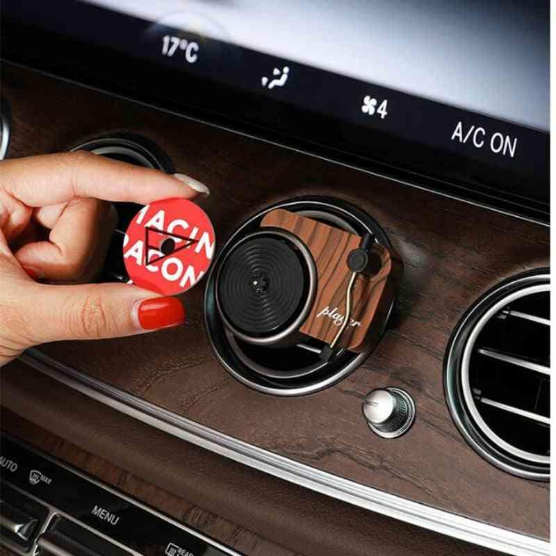 Car Air Freshener Perfume Record Player Car Perfume Clip Vinyl Spin Phonograph Air Vent Diffuser
