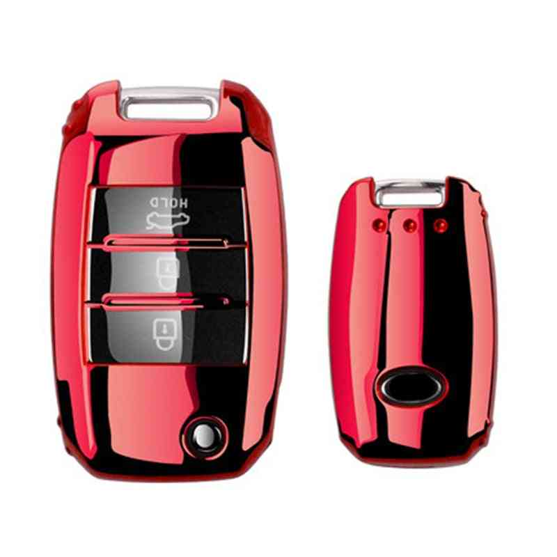 Car Key Cover Protection For Kia Sid Rio Soul Sportage Ceed Sorento Cerato Keychain