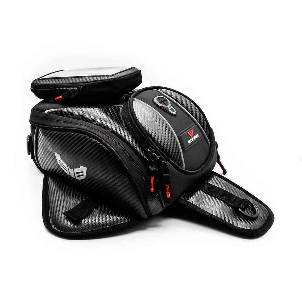 Motorcycle Magnetic Fuel Oil Tank, Mobile Phone, Gps Navigation Bag