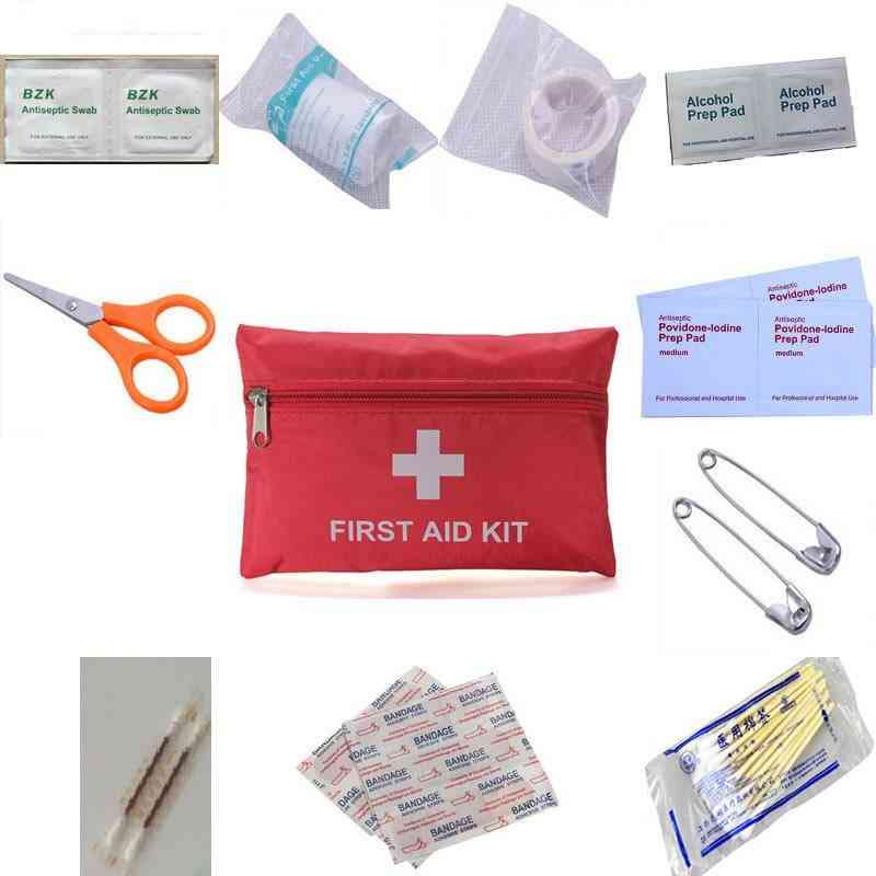 Portable Waterproof, First Aid Kit For Emergency Survival Treatment