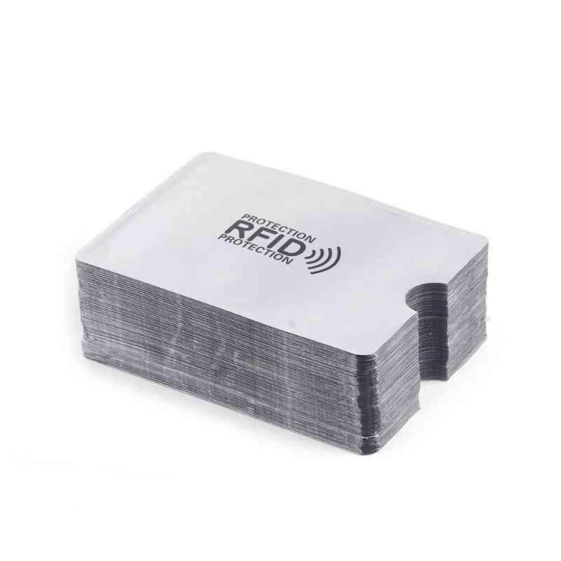 Anti-magnetic Sleeve, Aluminum Foil, Portable Bank, Rfid Card Holder