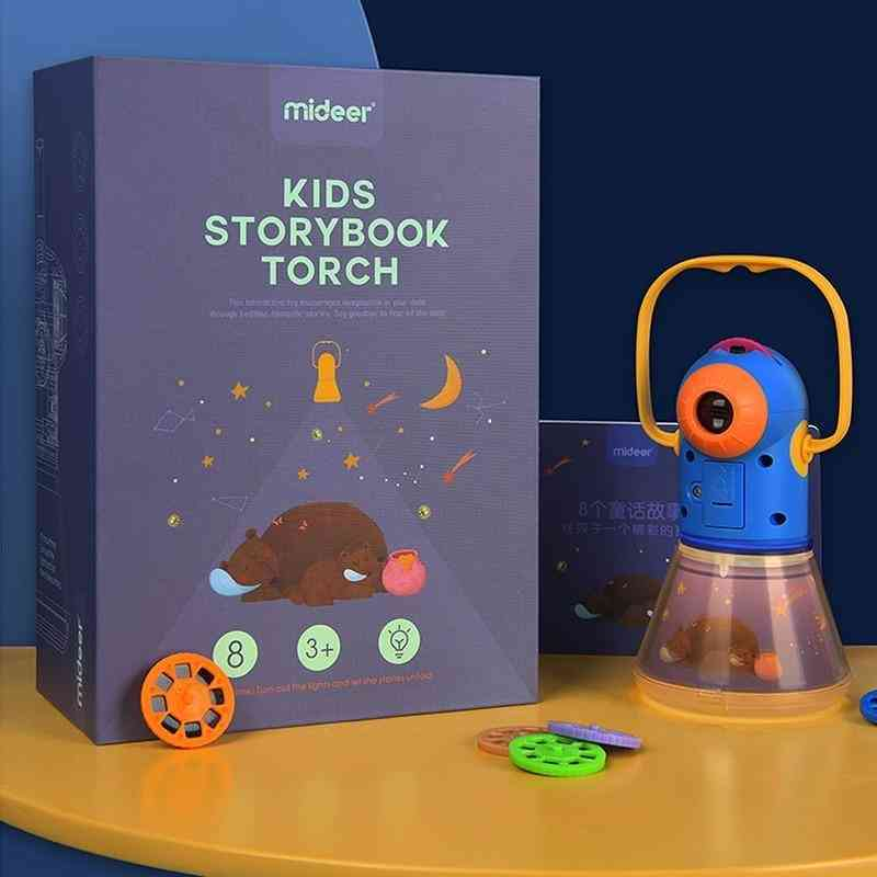 Storybook Torch Projector, Kaleidoscope Sky, Handrail Light-up