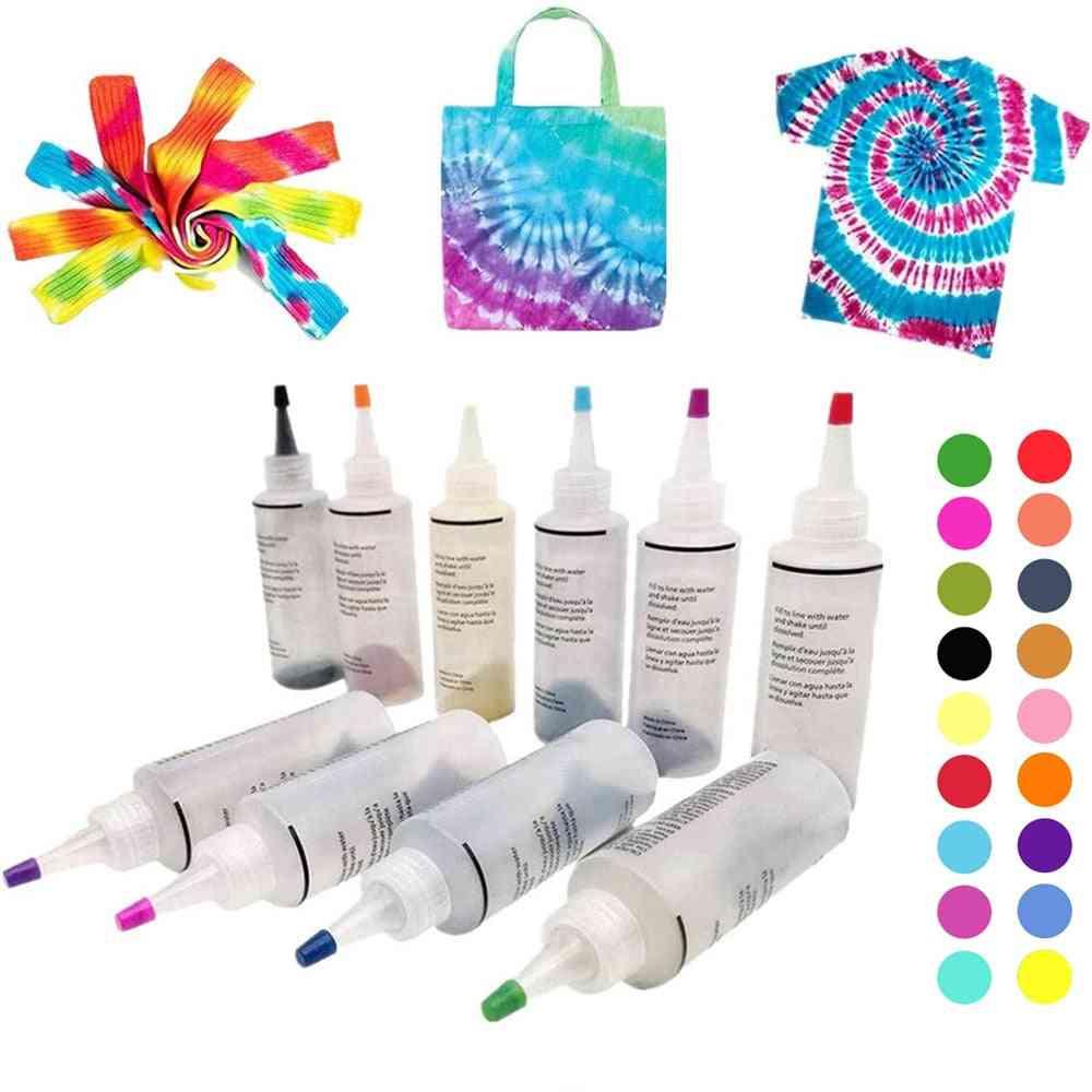 Kit Non-toxic Garment Graffiti Fabric Textile Paint  Colorful Clothing Pigment