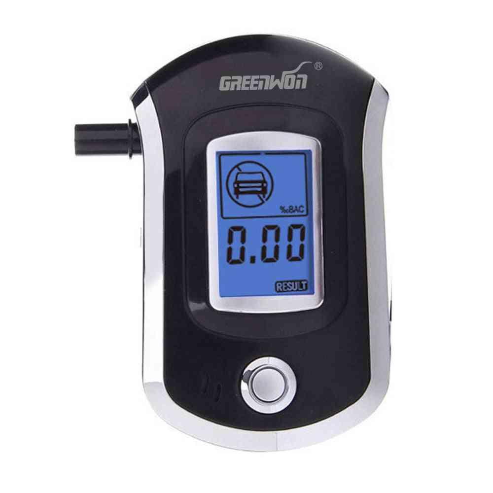 Mini Digital Lcd Screen Breath Alkohol Alcohol Tester