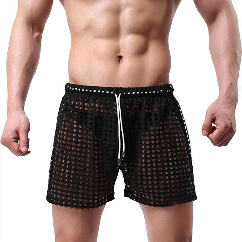 Men Pajama Hombre See Through Underwear Sleepwear
