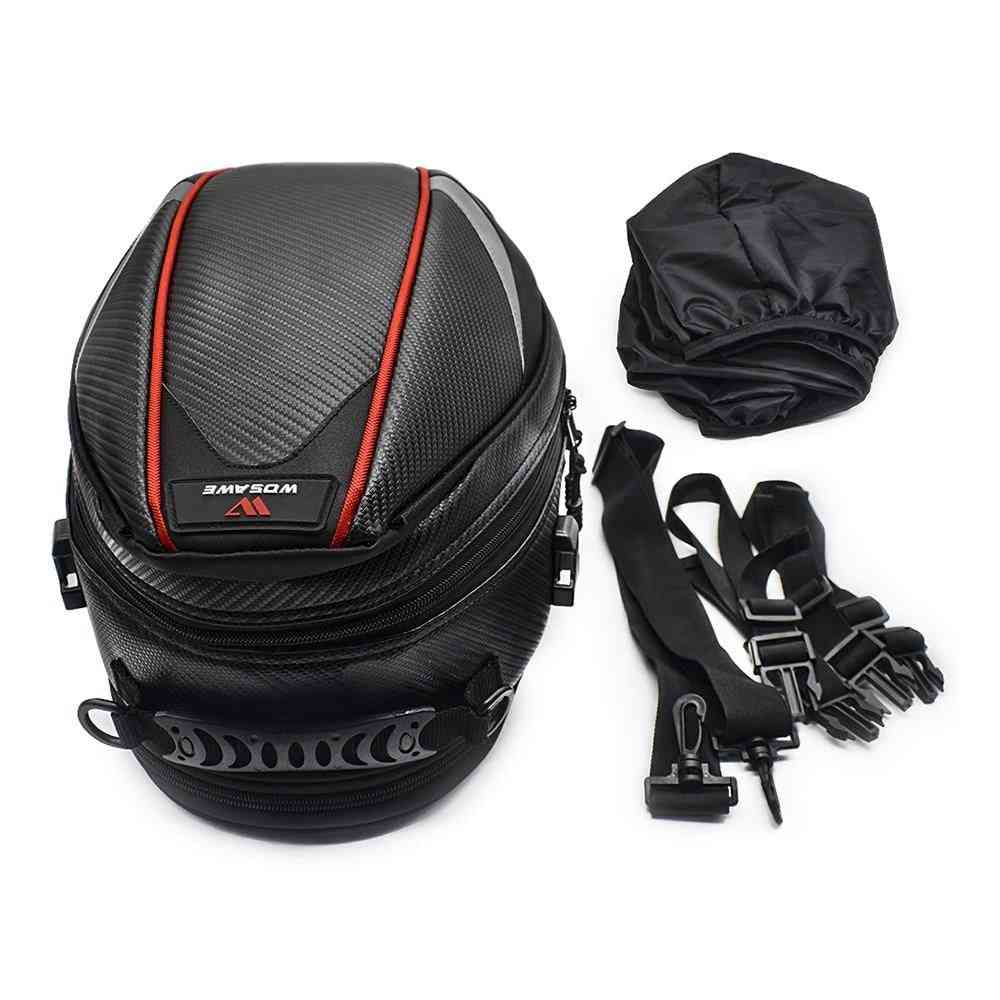 Motorcycle Tail Luggage Moto Saddle Waterproof Tank Bag
