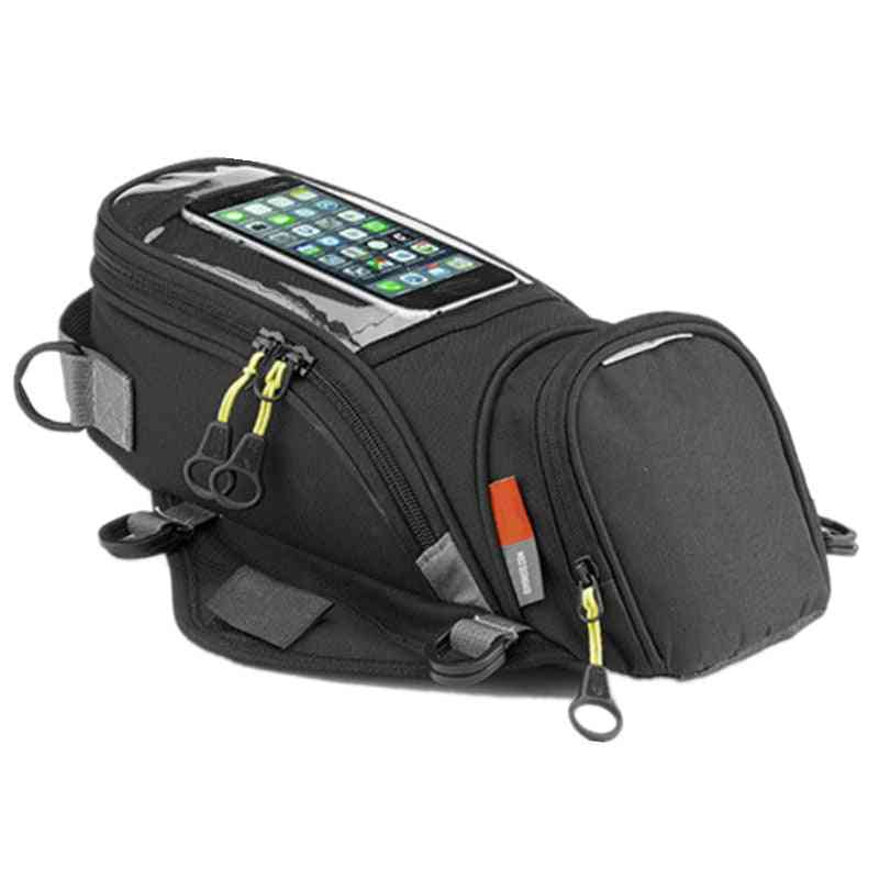 Motorcycle Fuel Bag, Mobile Phone Navigation Tank Bags