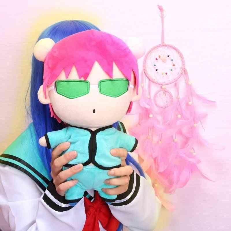 Doll Plush Stuffed Cushion, Throw Pillow Toy, Boy Girl's