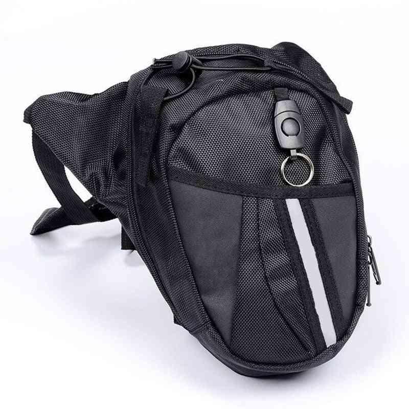 Motorcycle Waist Leg Waterproof Waistpack Drop Belt Bag