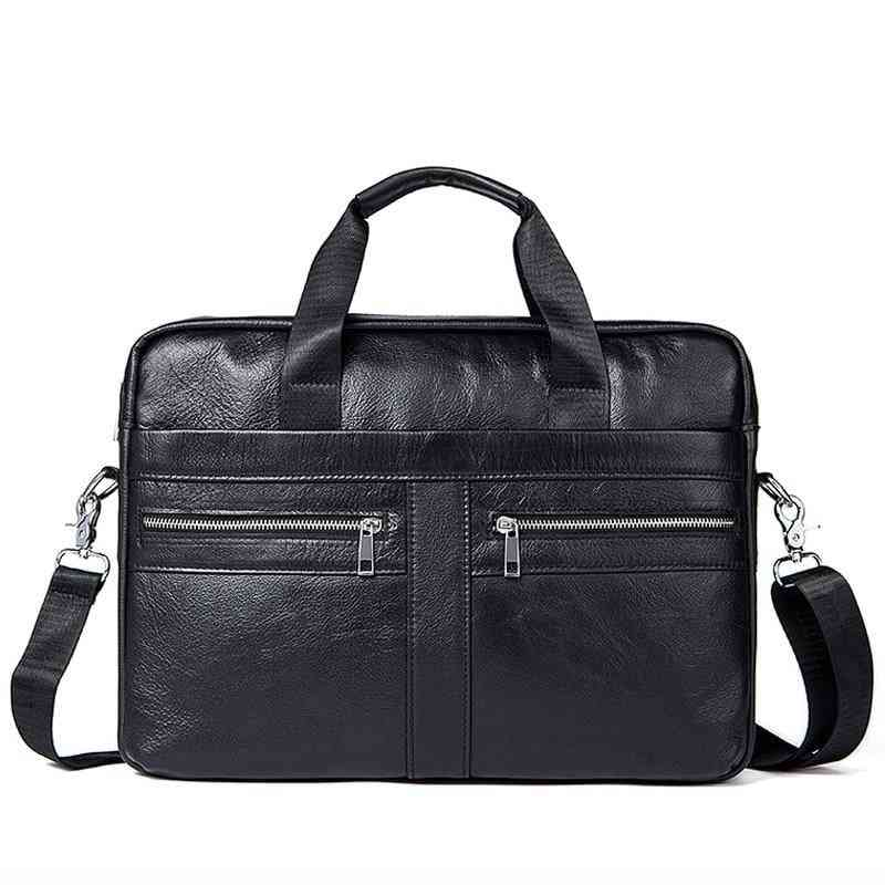 Genuine Leather Messenger & Laptop Briefcase, Office Bags