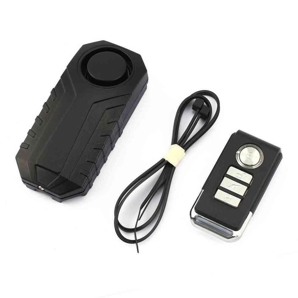 Loud Wireless Bicycle, Anti-theft Waterproof, Door/ Window Vibration Alarm