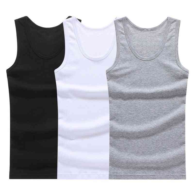 Sleeveless Tank Top Vest Undershirts