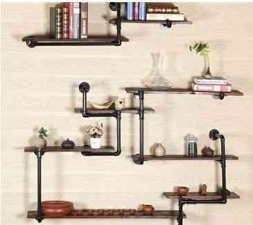 Retro-vintage Shelf Art Modeling Bookshelf