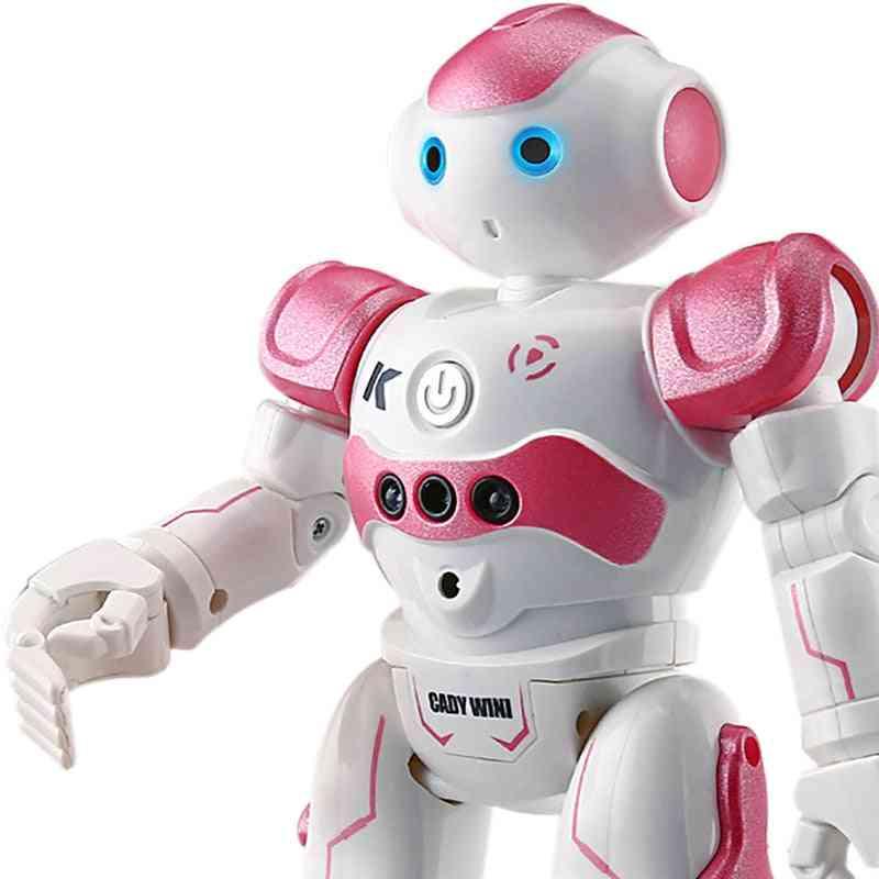 Rc Robot Intelligent Programming Remote Control Toy