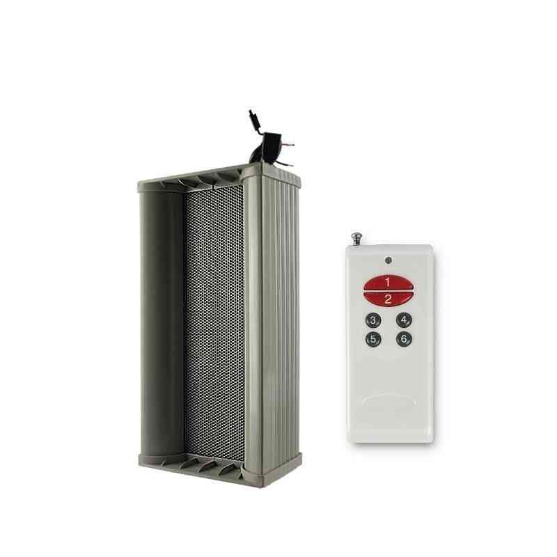 Outdoor Waterproof Big Power Motion Sensor Audio Amplifier Speaker
