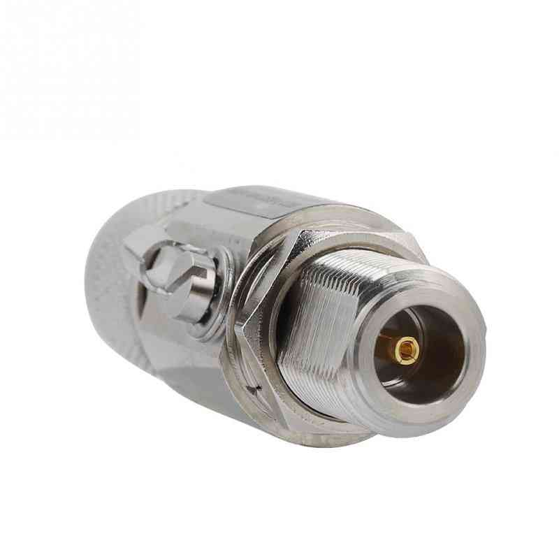 N Male To N Female Coaxial Lightning Surge Protector