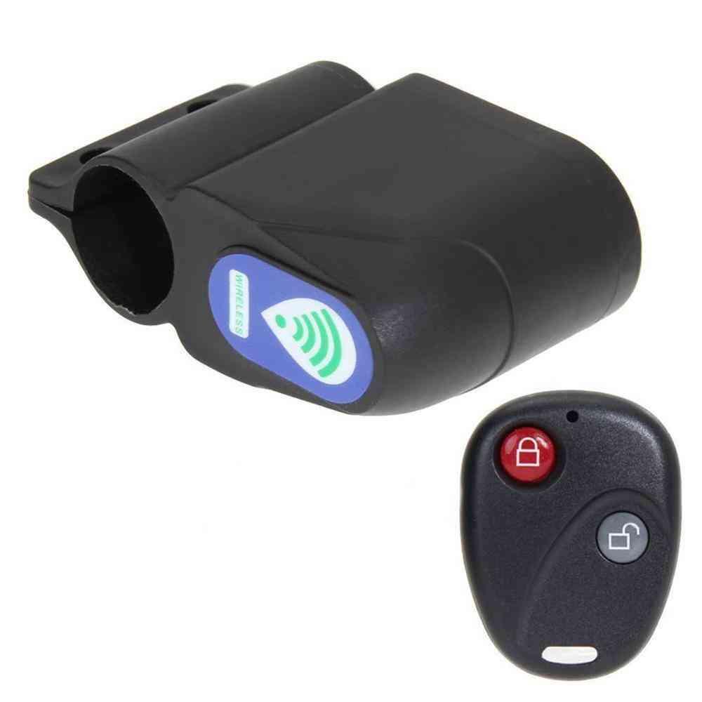 Wireless Remote Control Vibration Alarm Mountain Road Bike Security Lock