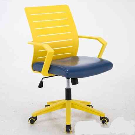 Leather Chassis Ergonomic Chair