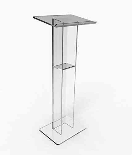 Fixture Displays Acrylic Podium Plexiglass Pulpit, School Church