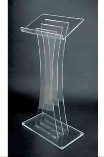 Acrylic Platform, Lectern & Podium Plexiglass