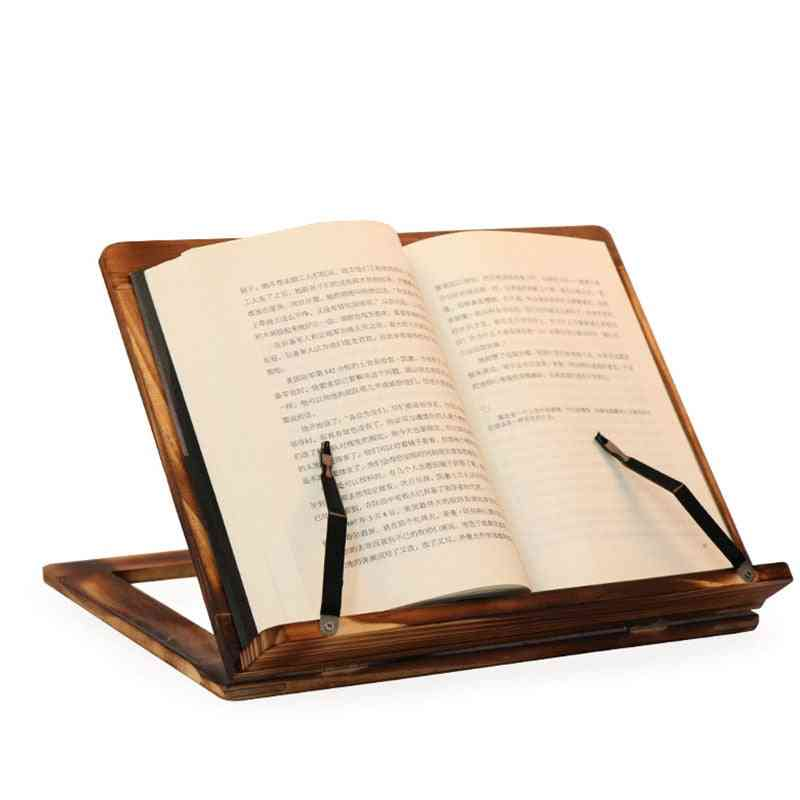 Easy Reading Folding Wooden Pine Frame,magazine Holder
