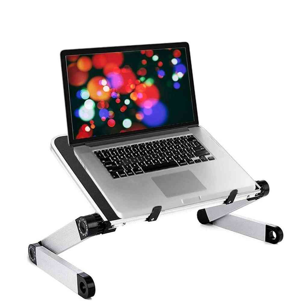 Adjustable Foldable Lift Bracket Stand Table For Laptop