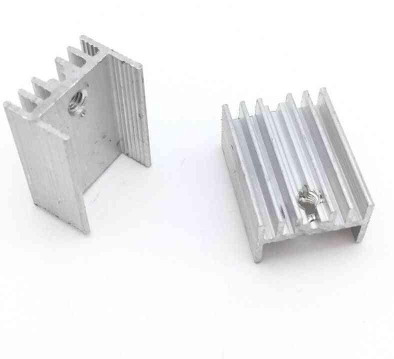 Aluminium Heat Sink Transistor Radiator To220 Cooler Cooling