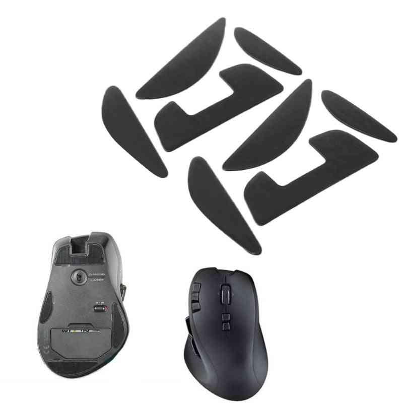 2-sets Skatez Mouse, Feet Mice Pad For Logitech G700/ G700s, Laser Mouse