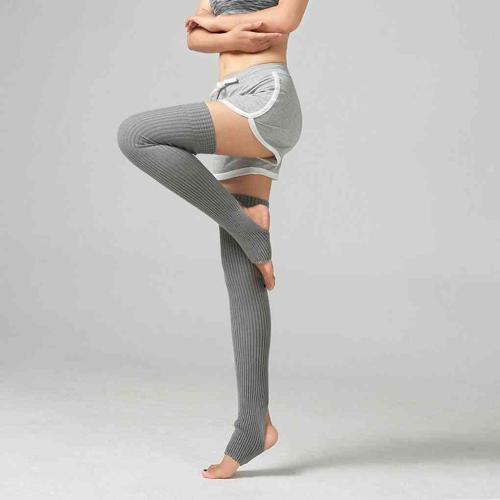 Women Leg Warmers Ballet Socks