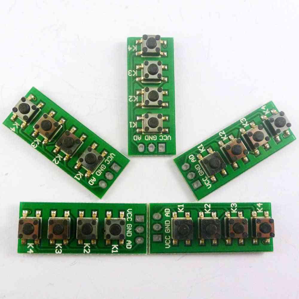 Ad Keypad Port Controll 4 Buttons Matrix Keyboard Development Module For Arduino