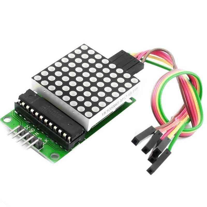 Led Display Max7219 Dot Led Matrix Module Mcu Control For Arduino