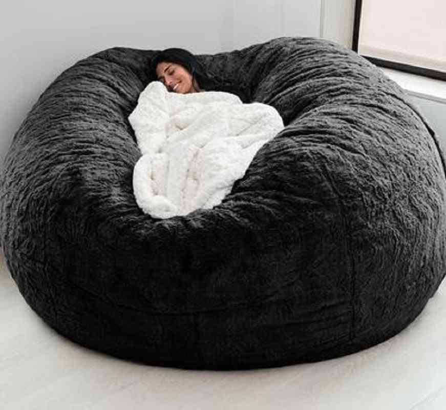 Fur Giant, Removable Furniture, Lazy Sofa Coat, Bean Bag Cover