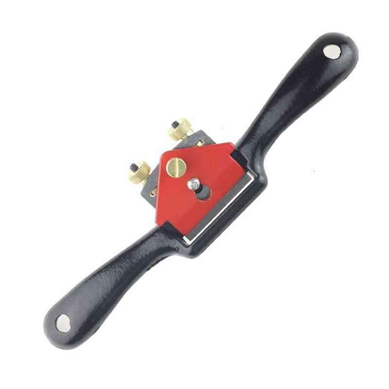 9 Inch Adjustable Mini Carpenter Hand Planer Woodworking Spoke Shave