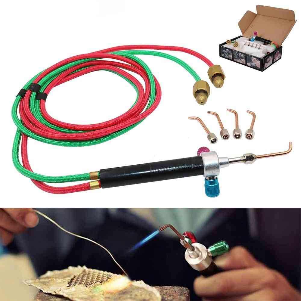 Portable Acetylene Oxygen Torch Soldering, Mini Gas Welding Torch