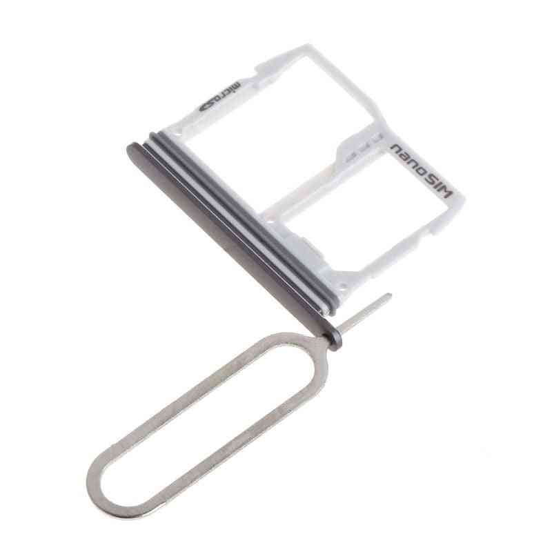 Sim Card Tray Slot Holder Sd Memory Sim Adapter For Lg G6 Us997 Vs988